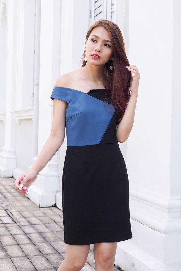 Marnie Colourblock Bodycon Dress