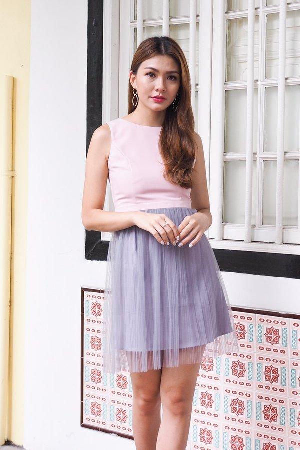 Cheyenne Blissful Tulle Dress in Pink [M]