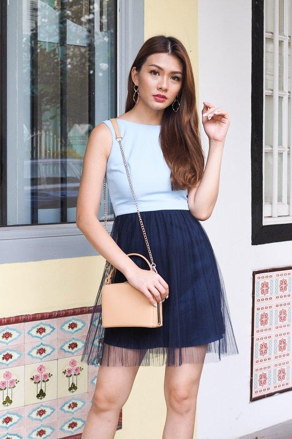 Cheyenne Blissful Tulle Dress in Blue [S/M]