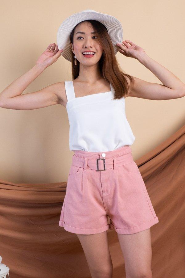 Sango Denim Shorts in Pink [XS/S]