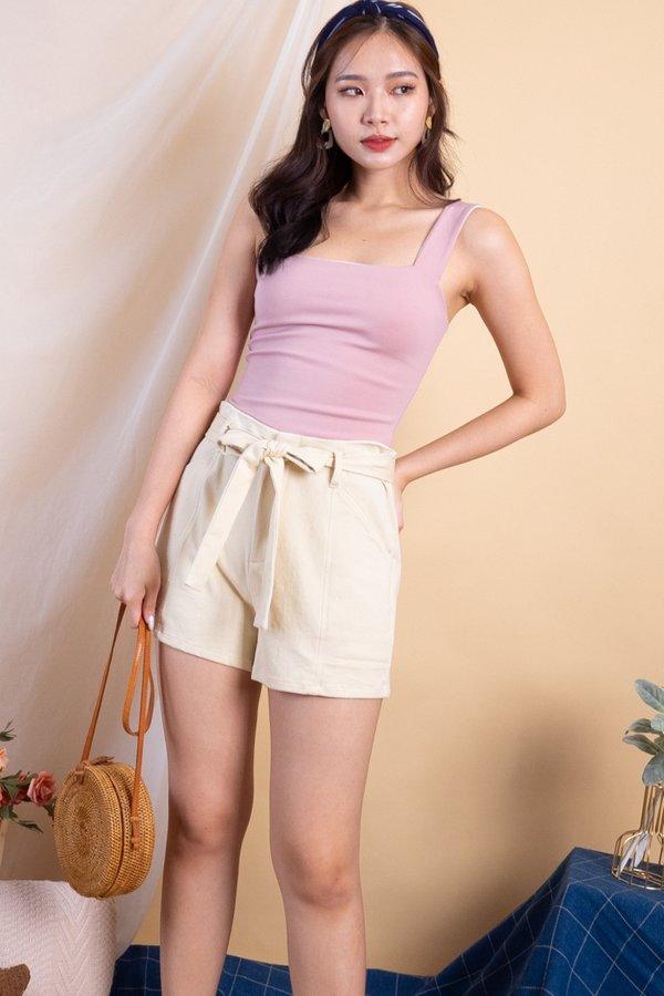 Harper Shorts in Cream