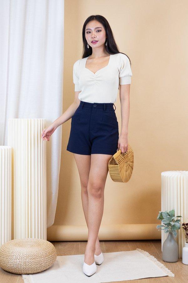 Nami Knit Top in Cream